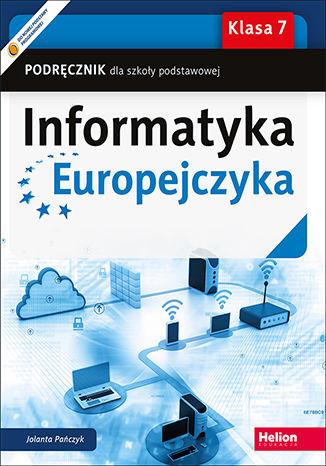 Okładka książki Informatyka Europejczyka. Podręcznik dla szkoły podstawowej. Klasa 7