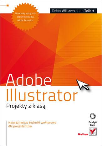 Okładka książki/ebooka Adobe Illustrator. Projekty z klasą