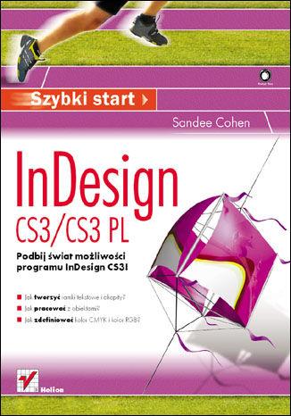 Okładka książki InDesign CS3/CS3 PL. Szybki start