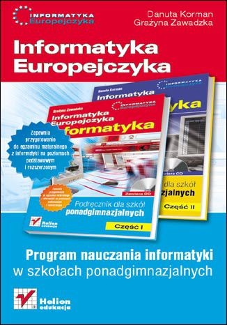 Okładka książki Informatyka Europejczyka. Informatyka. Program nauczania dla szkół ponadgimnazjalnych