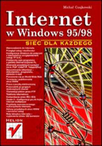 Okładka książki/ebooka Internet w Windows 95/98. Sieć dla każdego
