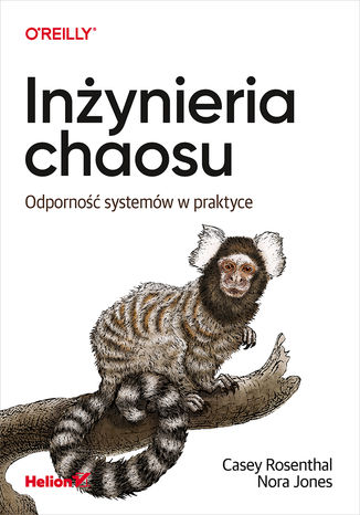 Okładka książki/ebooka Inżynieria chaosu. Odporność systemów w praktyce