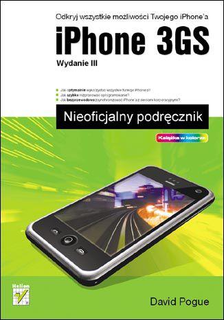 Okładka książki/ebooka iPhone 3GS. Nieoficjalny podręcznik. Wydanie III