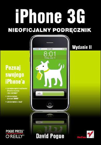 Okładka książki/ebooka iPhone 3G. Nieoficjalny podręcznik. Wydanie II