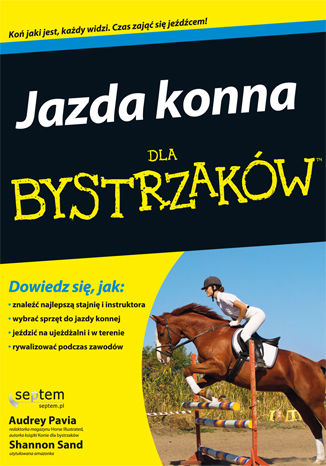 Okładka książki Jazda konna dla bystrzaków