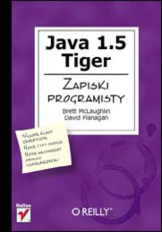 Okładka książki/ebooka Java 1.5 Tiger. Zapiski programisty