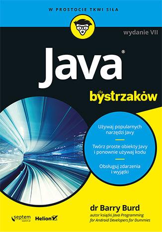 Okładka książki/ebooka Java dla bystrzaków. Wydanie VII