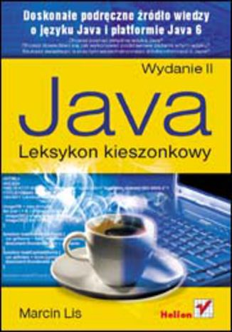 Okładka książki Java. Leksykon kieszonkowy. Wydanie II