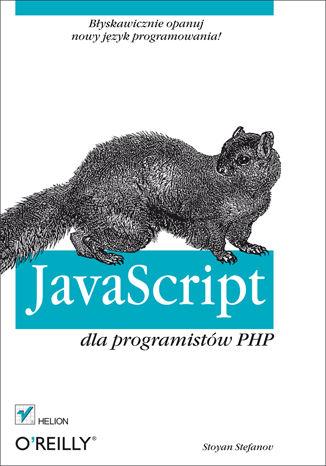 Okładka książki JavaScript dla programistów PHP