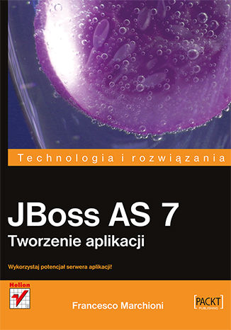 Okładka książki/ebooka JBoss AS 7. Tworzenie aplikacji