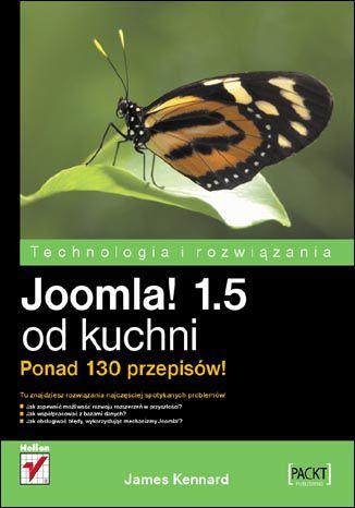 Okładka książki Joomla! 1.5 od kuchni. Ponad 130 przepisów!