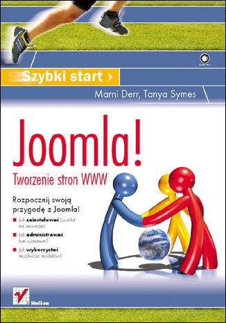 Okładka książki Joomla! Tworzenie stron WWW. Szybki start