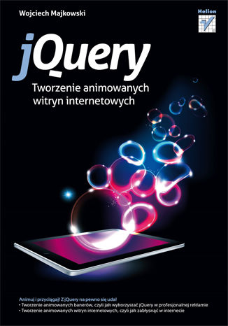 Okładka książki jQuery. Tworzenie animowanych witryn internetowych