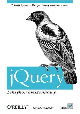 Okładka książki/ebooka jQuery. Leksykon kieszonkowy
