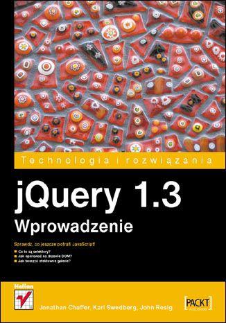 Okładka książki/ebooka jQuery 1.3. Wprowadzenie
