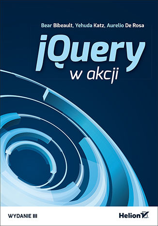 Okładka książki/ebooka jQuery w akcji. Wydanie III