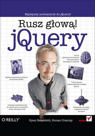 Okładka książki/ebooka jQuery. Rusz głową!