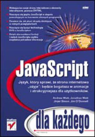 Okładka książki/ebooka JavaScript dla każdego
