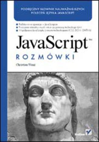 Okładka książki/ebooka JavaScript. Rozmówki