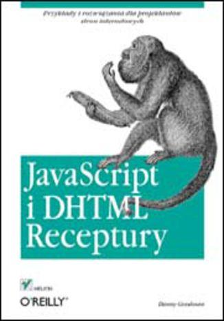 Okładka książki/ebooka JavaScript i DHTML. Receptury