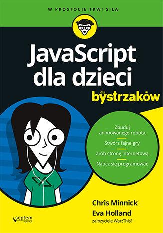Okładka książki JavaScript dla dzieci dla bystrzaków