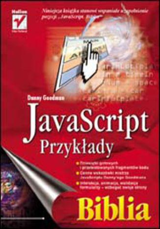 Okładka książki JavaScript - przykłady. Biblia