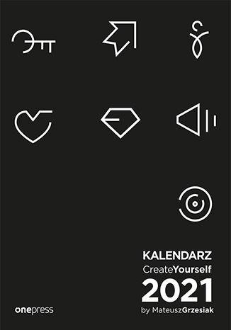 Okładka książki/ebooka Kalendarz Create Yourself 2021