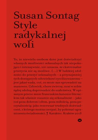 Okładka książki Style radykalnej woli