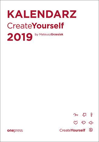Okładka książki Kalendarz Create Yourself 2019