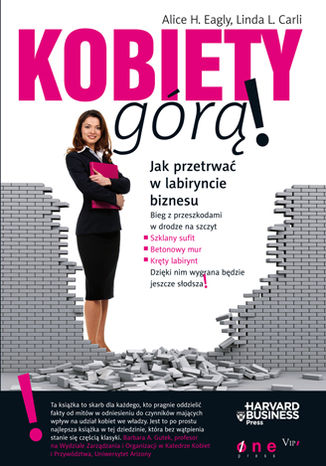 Okładka książki Kobiety górą! Jak przetrwać w labiryncie biznesu