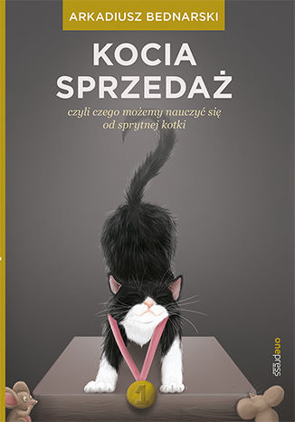 Okładka książki Kocia sprzedaż, czyli czego możemy nauczyć się od sprytnej kotki