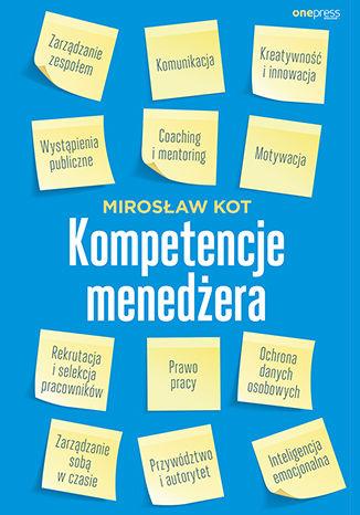 Okładka książki Kompetencje menedżera
