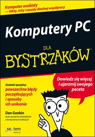 Okładka książki/ebooka Komputery PC dla bystrzaków