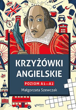 Okładka książki Krzyżówki angielskie poziom A1- A2