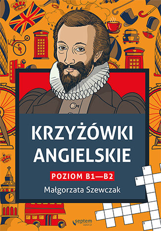 Okładka książki/ebooka Krzyżówki angielskie poziom B1- B2