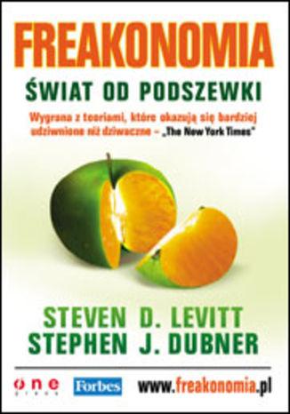 Okładka książki/ebooka Freakonomia. Świat od podszewki