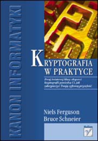 Okładka książki/ebooka Kryptografia w praktyce