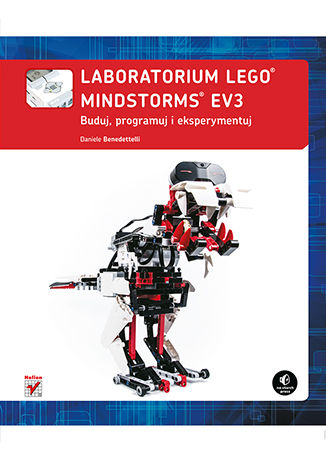 Okładka książki Laboratorium LEGO Mindstorms EV3. Buduj, programuj i eksperymentuj