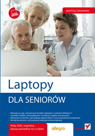 Okładka książki Laptopy. Dla seniorów