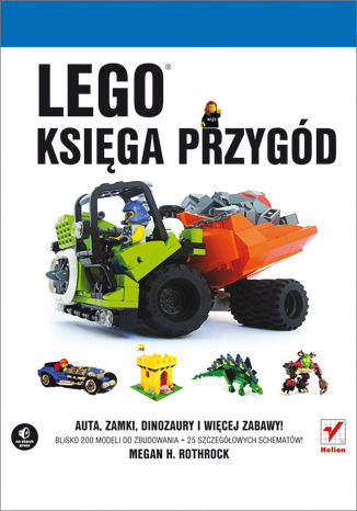 Okładka książki LEGO. Księga przygód
