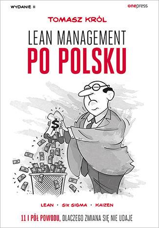 Okładka książki Lean management po polsku. Wydanie II
