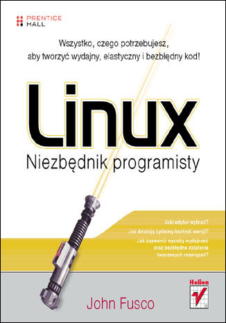 Okładka książki Linux. Niezbędnik programisty
