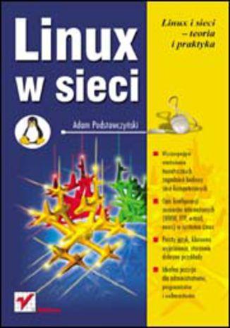 Okładka książki Linux w sieci