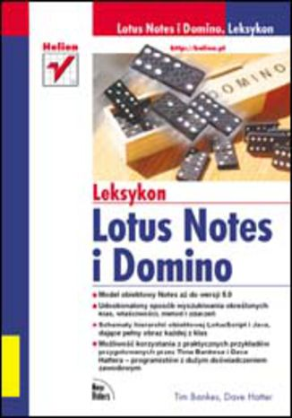 Okładka książki Lotus Notes i Domino. Leksykon