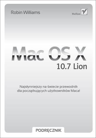 Okładka książki/ebooka Mac OS X 10.7 Lion. Podręcznik
