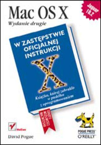 Okładka książki/ebooka Mac OS X. Wydanie drugie