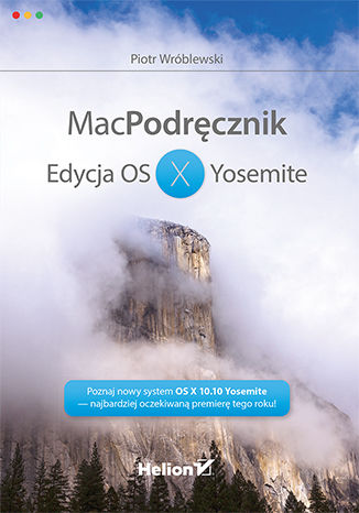 Okładka książki MacPodręcznik. Edycja OS X Yosemite