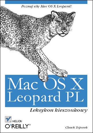Okładka książki Mac OS X Leopard PL. Leksykon kieszonkowy