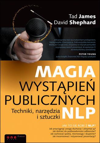 Okładka książki/ebooka Magia wystąpień publicznych. Techniki, narzędzia i sztuczki NLP