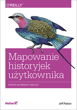 Okładka książki Mapowanie historyjek użytkownika. Przepis na produkt idealny